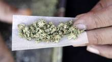 The Canadian Paediatric Society is urging the federal government to take steps to protect children and youth should it follow through on its plan to legalize recreational marijuana next year. (Marcio Jose Sanchez/THE ASSOCIATED PRESS)