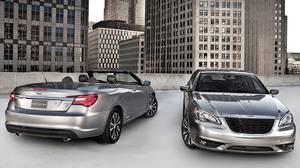 2012 Chrysler 200 convertible and sedan