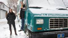 Kara Fenske and Nevin Fenske have parked the Drift food truck for the winter but are busy with their new bricks-and-mortar restaurant in Edmonton. (Amber Bracken for The Globe and Mail)