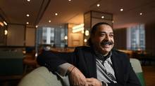 Shahid Khan, a self-made billionaire and the first minority owner of the NFL's Jacksonville Jaguars, is the new owner of the Four Seasons Hotel. He says he's not concerned about Donald Trump's anti-immigration rhetoric. (Fred Lum/The Globe and Mail)