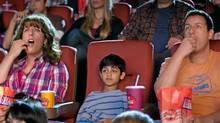 "Adam Sandler (far left) and Adam Sandler (far right) star in ""Jack and Jill"". (Handout)"