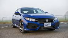 2017 Honda Civic hatchback (Bill Petro/Honda)