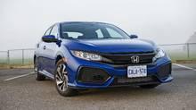 2017 Honda Civic hatchback (Bill Petro/Honda)