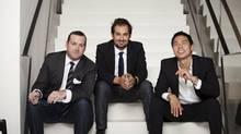 Matt Davis, Anwar Mekhayech and Allen Chan (Caitlin Cronenberg)