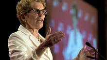Ontario Premier Kathleen Wynne (Frank Gunn/THE CANADIAN PRESS)