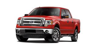 2014 Ford F-150.