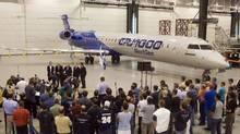 The Bombardier C Series jetliner (Ryan Remiorz)