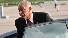 Greece's Prime Minister George Papandreou (DIMITRI MESSINIS)