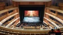 The Mariinsky Theatre in St. Petersburg, is designed by Toronto architects Diamond Schmitt.