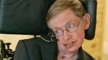 In this Thursday, April 26, 2007 file photo physicist Stephen Hawking answers questions during an interview in Orlando, Fla. (John Raoux/(AP Photo/John Raoux. File ))