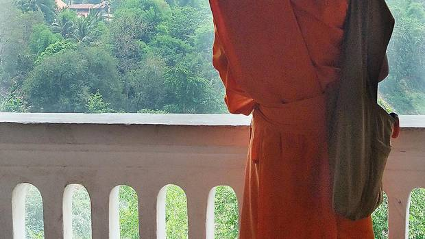 In Luang Prabang, there are more than 1,000 monks in a town of 50,000. (Ellen Himelfarb)