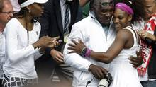 The Williams sisters started training with their father when they were toddlers. (Alastair Grant/Associated Press)