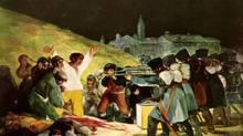 Hitler-era critics said Goya's paintings of the 1808 Spanish uprising glorified the struggle against invaders.
