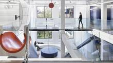 This is a view of the atrium space at the entrance of an advertising agency Grip Limited in Toronto. (Grip Ltd.)