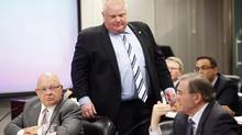 Toronto Mayor Rob Ford attends an executive council meeting in Toronto, March 19, 2014. (MARK BLINCH/REUTERS)