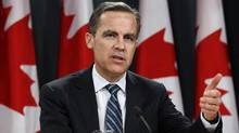 Bank of Canada Governor Mark Carney speaks, in Ottawa on January 18, 2012. (CHRIS WATTIE/REUTERS)