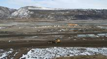 The Site C dam has become a major issue in the provincial election. (Justine Hunter/The Globe and Mail)