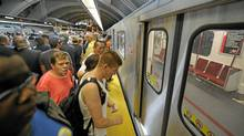 Toronto's subway system. (Fred Lum/The Globe and Mail)