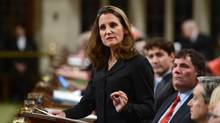 Foreign Affairs Minister Chrystia Freeland's House of Commons speech last week signalled a new direction in Canadian foreign policy. (Sean Kilpatrick/THE CANADIAN PRESS)