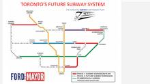 Toronto Mayor Rob Ford's subway expansion plan