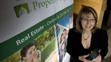 Karen Thompson, president of Canaterra Property Pages in Kelowna, B.C. (Jeff Bassett)