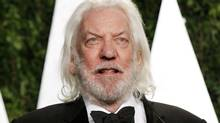 Donald Sutherland seen at the 2012 Vanity Fair Oscar party in West Hollywood. (Reuters)