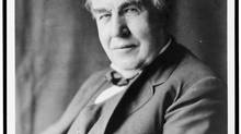 Inventor Thomas Edison may have done more to rob the world of sleep than anyone. (LIBRARY OF CONGRESS)