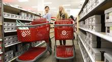 Target's 'cheap chic' marketing could now apply to its shares, which have fallen from record highs on recent weak earnings. (Chris Young For The Globe and Mail)