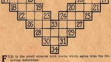 The first crossword puzzle was created by a journalist named Arthur Wynne on Dec. 21, 1913. It appeared in the New York World.