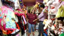 Jean Grant helps a customer at The Toy Store of Peterborough, September 22, 2016. Constituents in MP Maryam Monsef's riding aren't overreacting to revelations that Monsef was born in Iran, not Afghanistan. (Deborah Baic/The Globe and Mail)