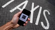 Australia's workplace regulator on Wednesday said it is investigating U.S. ride-hailing firm Uber Technologies Inc over the way it recruits drivers. (Toby Melville/REUTERS)