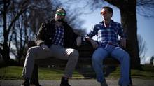 Burnt co-founders James Hanson, left, and Mike Munro, right, resorted to crowd funding first. (CHAD HIPOLITO/THE GLOBE AND MAIL)