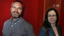 """Andre and Maria Jacquemetton are the producers of the hit series """"Mad Men."""" (Fernando Morales/The Globe and Mail)"""