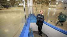 Monty Robbins started coaching in the non-contact hockey league after a particularly grisly match in Ohio caused him to rethink the sport. (Fred Lum//The Globe and Mail)