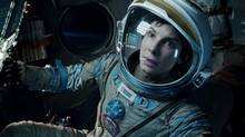 "Sandra Bullock in a scene from ""Gravity."" (AP)"