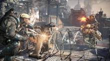 """Gears of War prequel keeps the franchise rolling, but with less grandiosity, multiplayer interest and, thankfully, less inane dialogue. Even the greatest offender from past games, Cole – who bills himself as the """"Cole Train"""" – is considerably more serious, with his annoying braggadocio kept to a minimum. (Epic Games/Microsoft Studios)"""