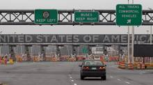 The United States border crossing is shown Wednesday, December 7, 2011 in Lacolle, Que., south of Montreal. (Ryan Remiorz/THE CANADIAN PRESS/Ryan Remiorz/THE CANADIAN PRESS)