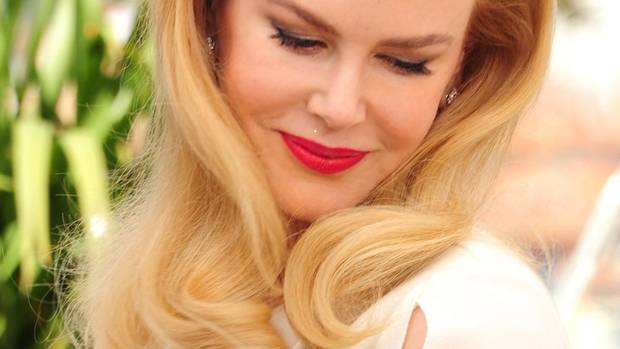 Actress Nicole Kidman poses for photographers during a photo call for the film Grace of Monaco at the Cannes Film Festival (Arthur Mola/Invision/AP)