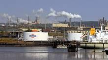 The Irving Oil refinery in Saint John, NB. (Roger Hallett/The Globe and Mail)