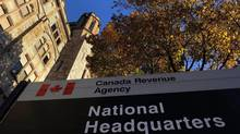 The Canada Revenue Agency headquarters in Ottawa is shown on November 4, 2011. The Canada Revenue Agency is in the final phase of an audit into the political activities of the church-based advocacy group Kairos, setting the stage // for another potential conflict between the aid organization and the Conservative government. (Sean Kilpatrick/THE CANADIAN PRESS)