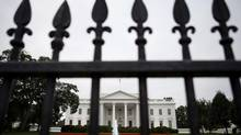 The White House is shown in Washington, Friday, Aug. 30, 2013, as discussion continues on what action the administration will take regarding Syria and the use of chemical weapons. (Jacquelyn Martin/Associated Press)