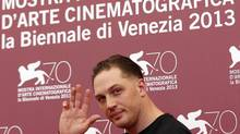 """Tom Hardy poses during a photo call for his movie""""Locke, directed by Steven Knight, during the 70th Venice Film Festival in Venice, September 2, 2013. (Alessandro Bianchi/Reuters)"""