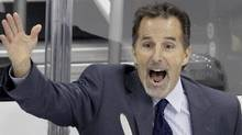 New York Rangers coach John Tortorella has been fined for his comments following Thursday's game against the Pittsburgh Penguins. (AP Photo) (AP)