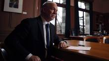 B.C. NDP Leader John Horgan gives a year-end interview at his office at the Legislature building in Victoria on Dec. 7, 2015. (CHAD HIPOLITO/THE CANADIAN PRESS)