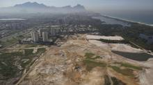 Aerial view of the Rio 2016 Olympic golf course under construction (Leo Correa/AP)