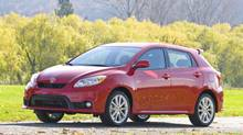 Consumers' Reports says that the Toyota Matrix owner's have found the car to be spectacularly reliable. (Toyota)