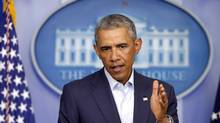 President Barack Obama expressed sympathy on August 18, 2014, for the 'passions and anger' sparked by the death of 18-year-old Michael Brown in Ferguson, Mo. (Charles Dharapak/Associated Press)