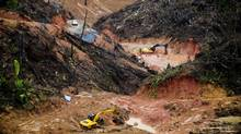 The Cobre Panama mine site in Panama. (Inmet Mining)