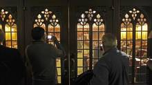 A day before the fall sitting begins, tourists take in a quiet House of Commons. (Dave Chan for The Globe and Mail)