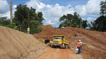 The estimated life expectancy of Inmet's Cobre Panama copper mining project was recently extended to 40 years. (Inmet)